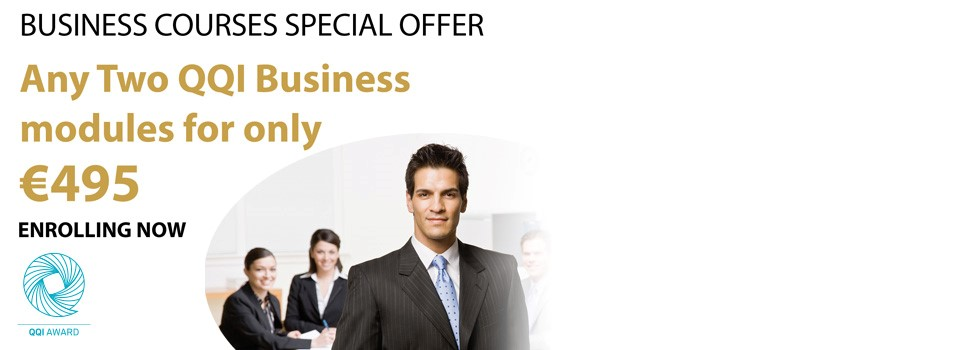 QQI Business Courses – Bundle Offer for July
