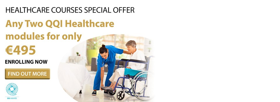 QQI Healthcare Courses – Bundle Offer for June