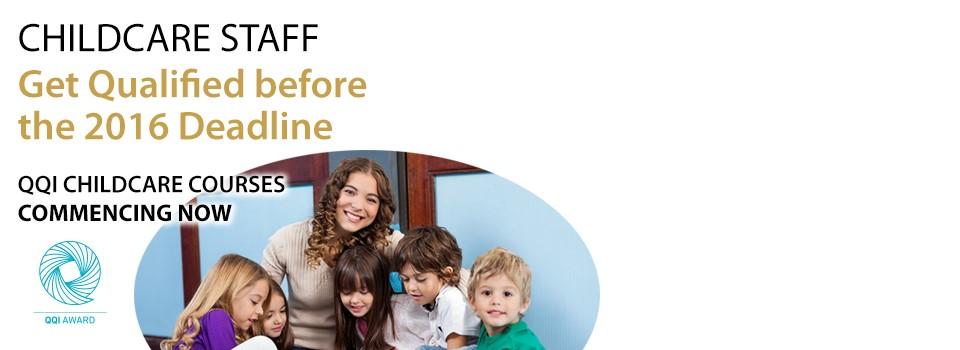 QQI ECCE Levels 5/6 Childcare Enrolling Now