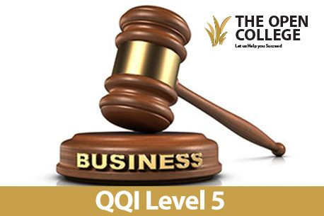 QQI Business Law course by distance learning - Level 5