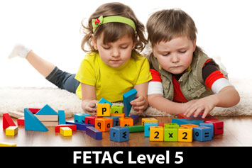 fetac level 5 childcare The level 5 childcare course will cater for a variety of adult learners ranging from school leavers with no previous experience in the ecce sector to more mature adults with relevant life or work experience.