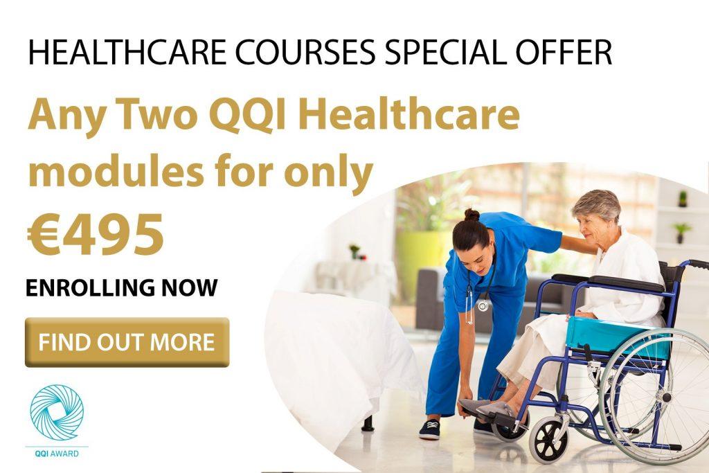 QQI Healthcare Courses - June Bundle Offer