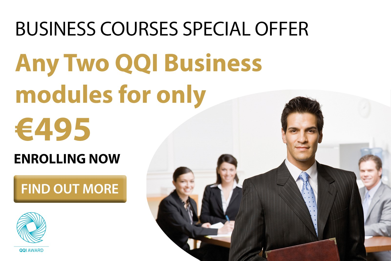 QQI Business & Finance Courses - July Bundle Offer