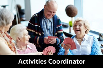 Activities Coordinator Course for Care of the Elderly