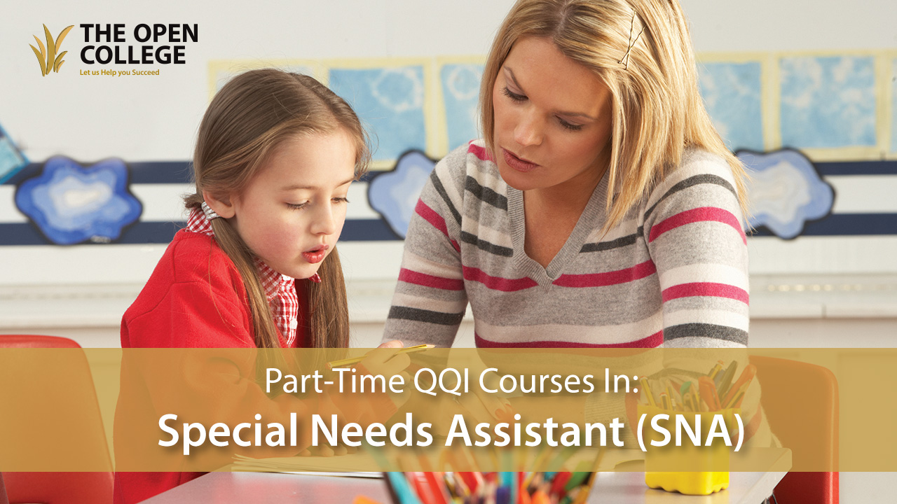 QQI Special Needs Assistant - Level 5 & 6